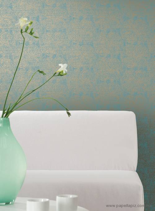 Tapiz modelo Primitive Flower RC3700 del catálogo Rhythm & Hues