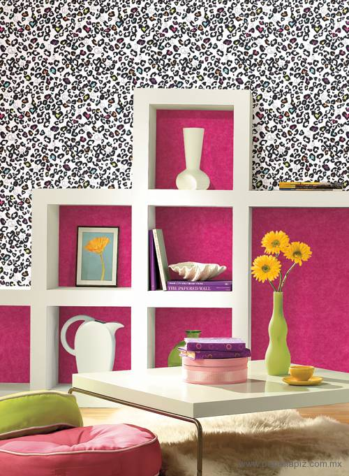 Tapiz modelo Linen Texture KD1884PW del catálogo Girl Power II