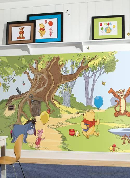 Tapiz modelo Pooh Mural JL1220MDK del catálogo Disney