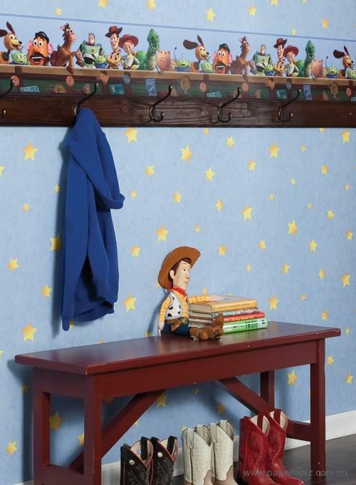 Tapiz modelo Toy Story Wall Stars DK5810 del catálogo Disney